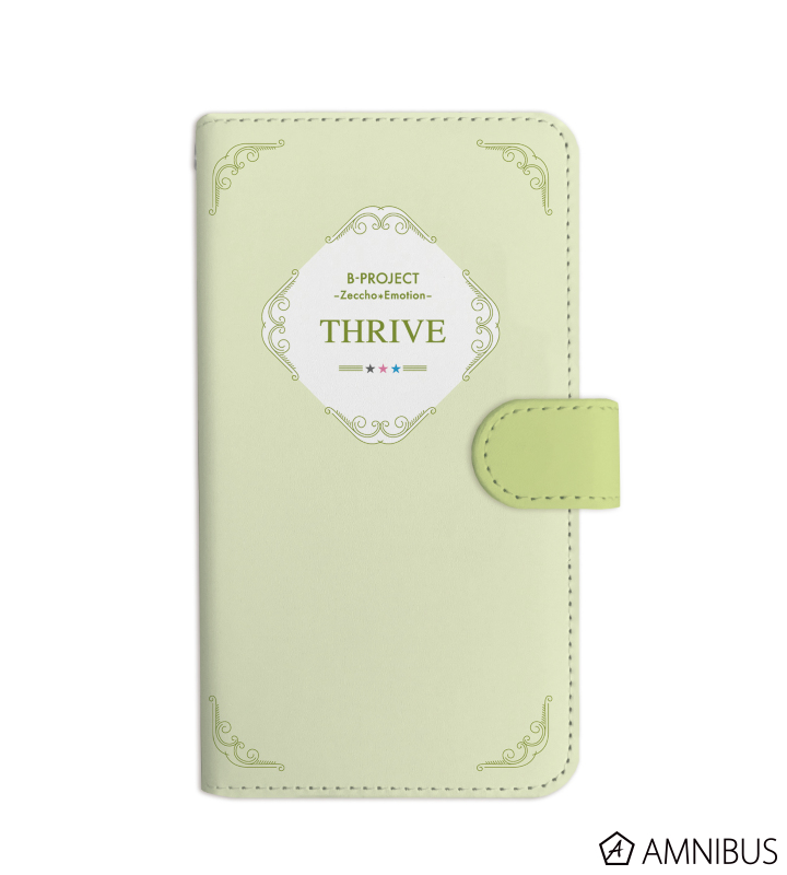 THRIVE 手帳型スマホケース