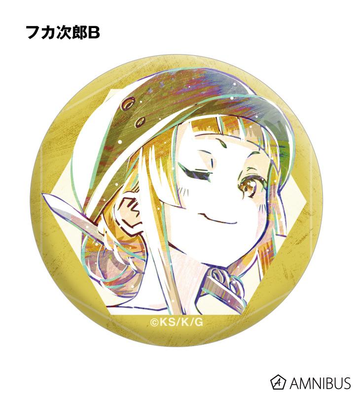 トレーディングAni-Art 缶バッジ