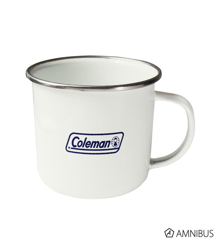 Colemanコラボ エナメルマグカップ(大垣千明)