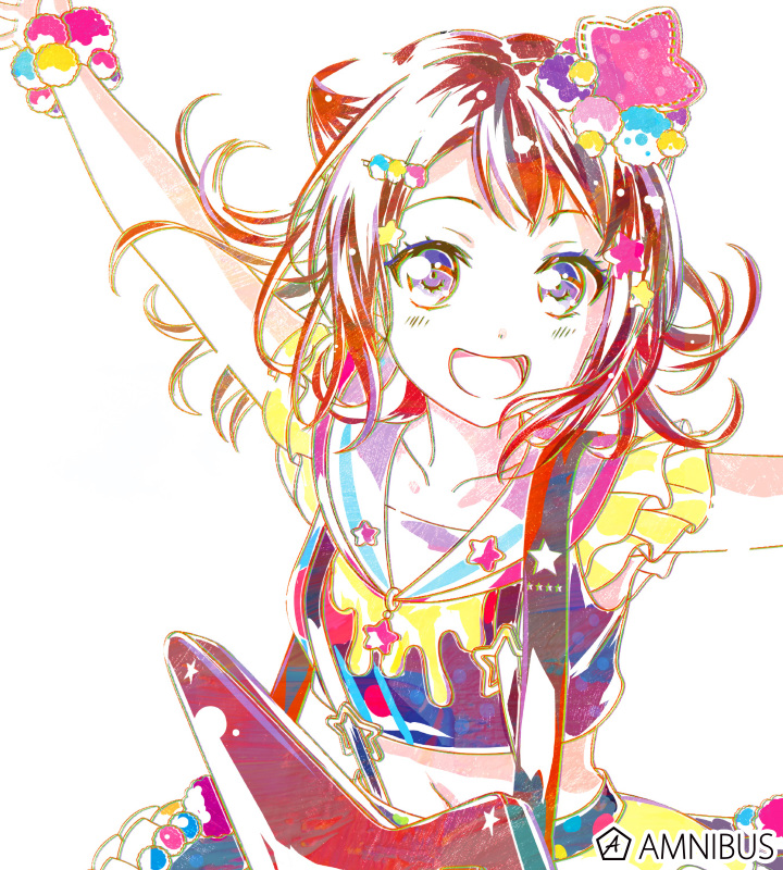Ani-Art フルグラフィックTシャツ 戸山香澄 (Poppin'Party)