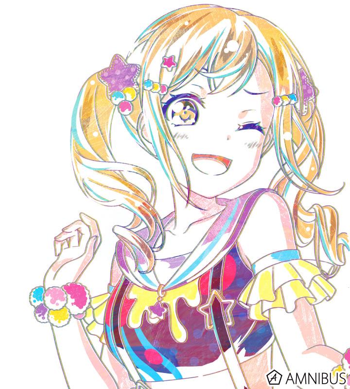 Ani-Art フルグラフィックTシャツ 市ヶ谷有咲 (Poppin'Party)