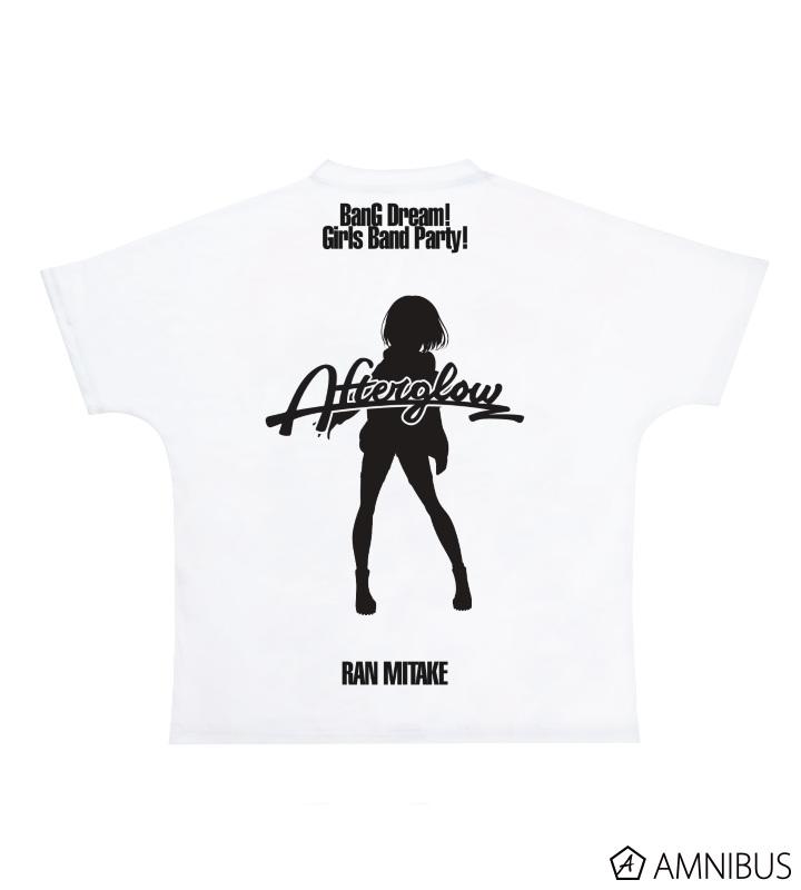 Ani-Art フルグラフィックTシャツ 美竹蘭 (Afterglow)