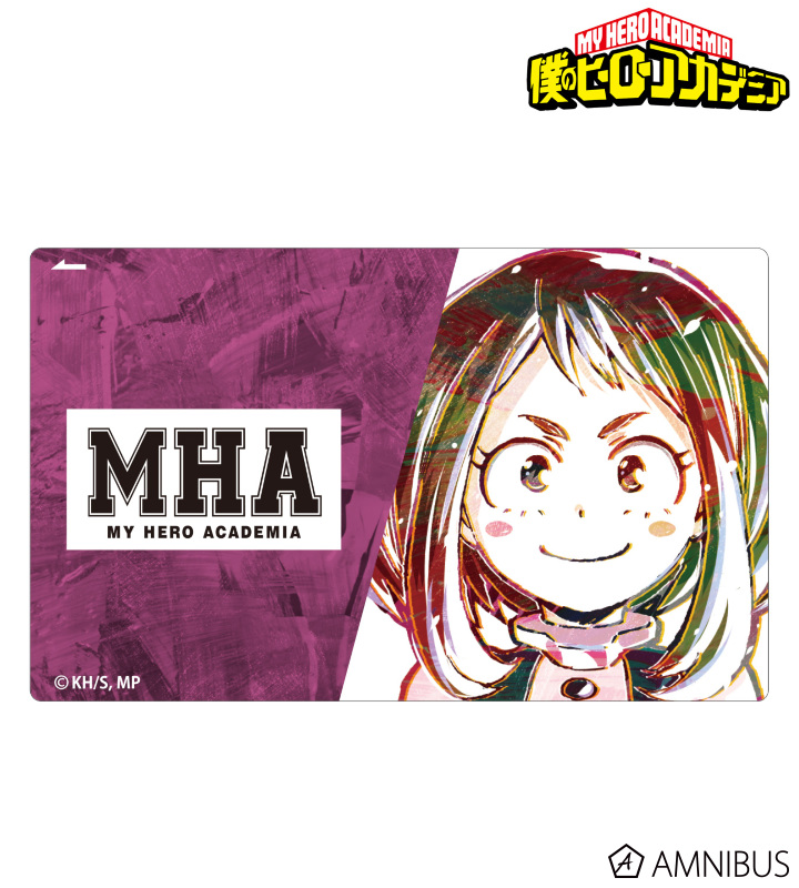 Ani-Art カードステッカー(麗日お茶子)