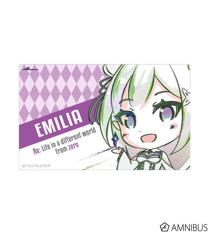 デフォルメAni-Art ICカードステッカー(エミリア)