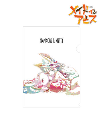 ナナチ&ミーティ Ani-Art クリアファイル
