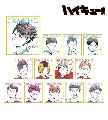 トレーディング Ani-Art ミニ色紙 Ver.B