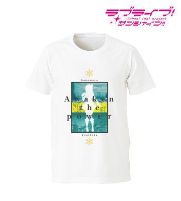 国木田花丸 Awaken the power Tシャツ