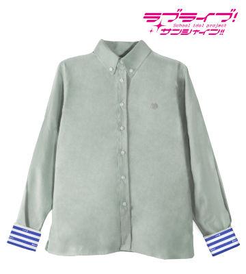 ワンポイント刺繍シャツ(津島善子)