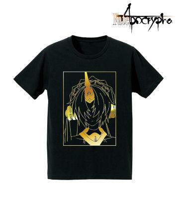 箔プリントTシャツ(黒のバーサーカー)