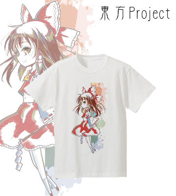 Ani-Art Tシャツ(博麗霊夢)