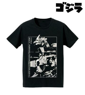 3式機龍箔プリントTシャツ