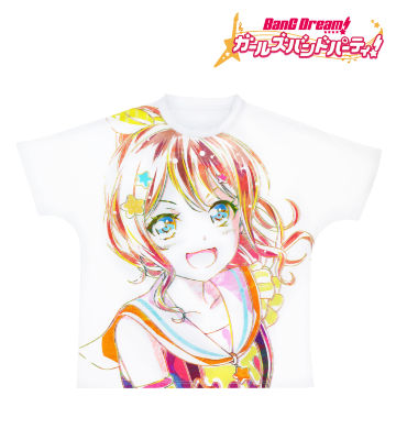 Ani-Art フルグラフィックTシャツ 山吹沙綾 (Poppin'Party)