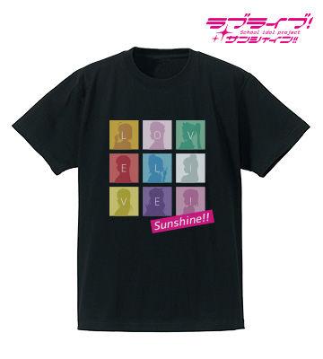 シルエットモノグラムTシャツ(ブラック)