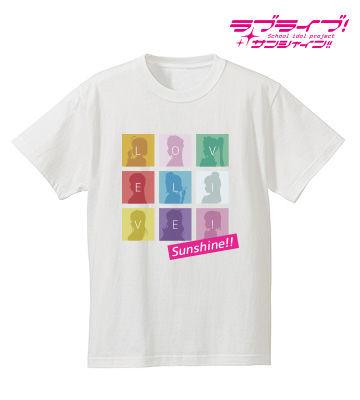 シルエットモノグラムTシャツ(ホワイト)