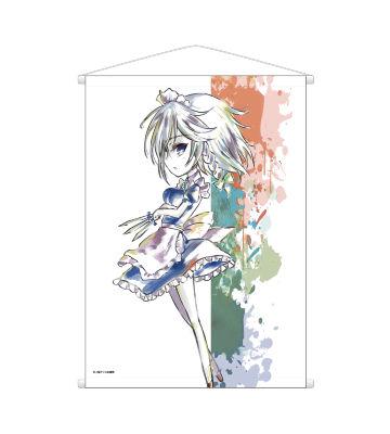 Ani-Artタペストリー(十六夜咲夜)