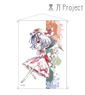 Ani-Artタペストリー(レミリア・ スカーレット)