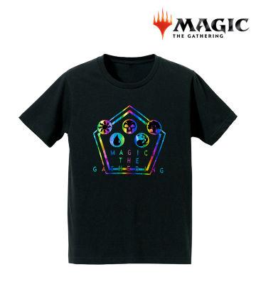 箔プリントTシャツ(マナ・シンボル)
