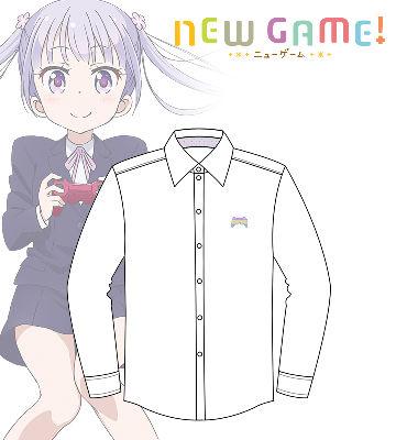 NEW GAME!カジュアルシャツ