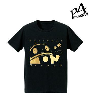 箔プリントTシャツ(クマ)