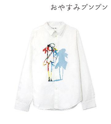 プンプン グラフィックシャツ