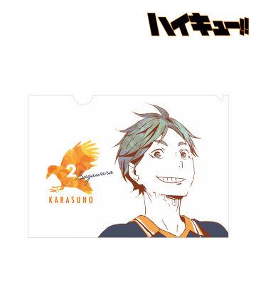 菅原孝支 Ani-Art クリアファイル