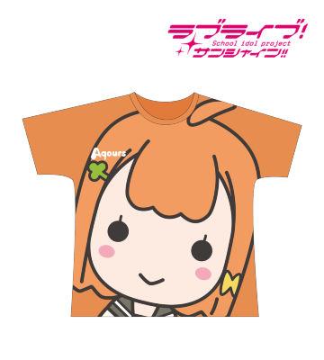 フルグラフィックTシャツ(高海千歌)