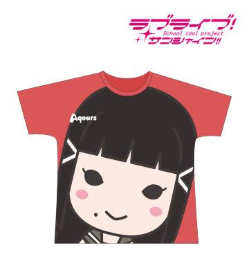 フルグラフィックTシャツ(黒澤ダイヤ)